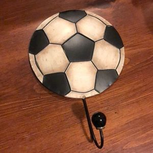 Decorative Soccer Hook